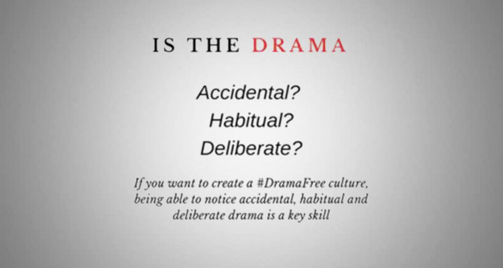 Drama@Work: Harnessing the Positives in Conflict