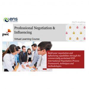 Professional Negotiation & Influencing